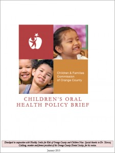 Children's Oral Health Policy Brief updated 1-28-15.Final Draft