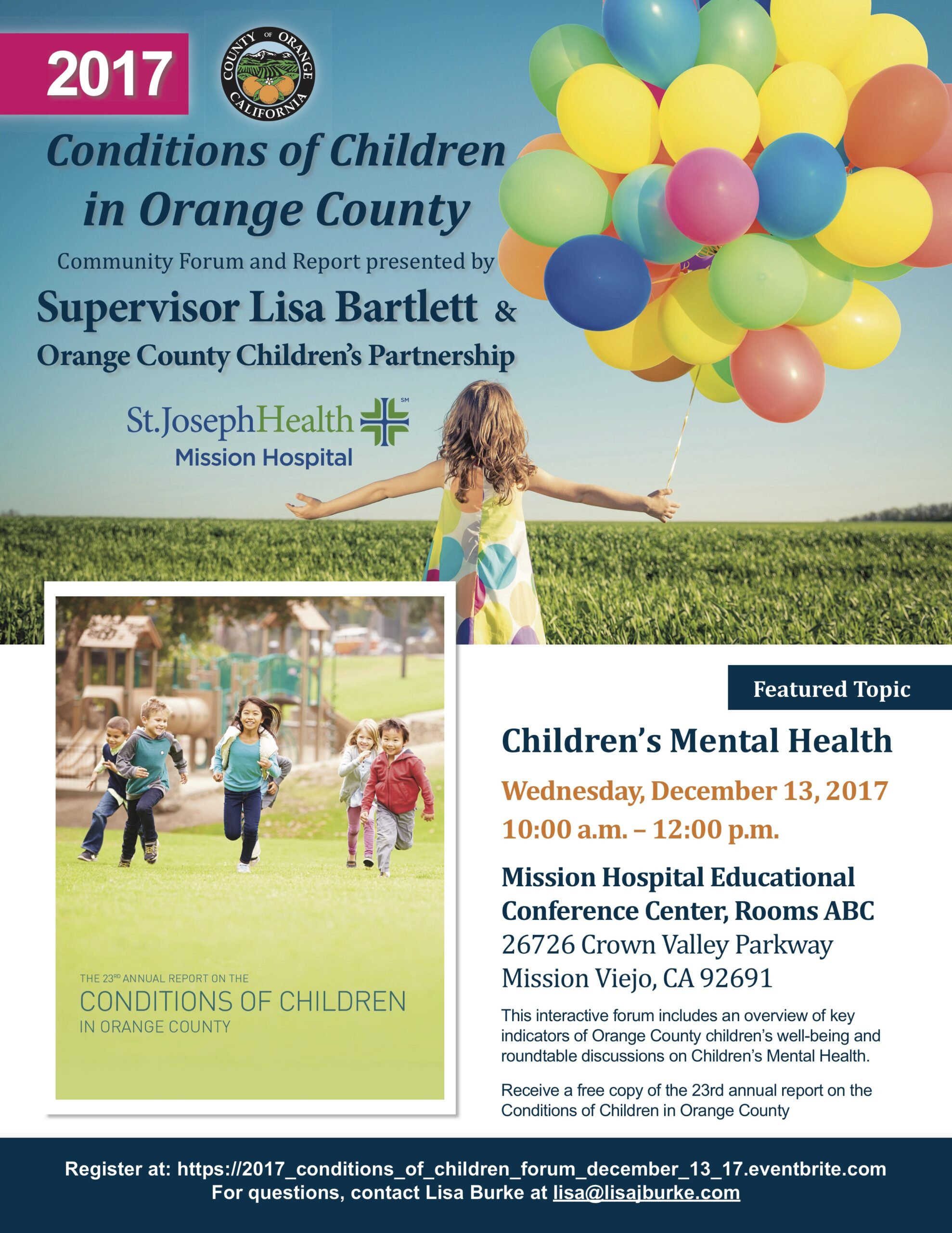 Community Forum on Children's Mental Health copy