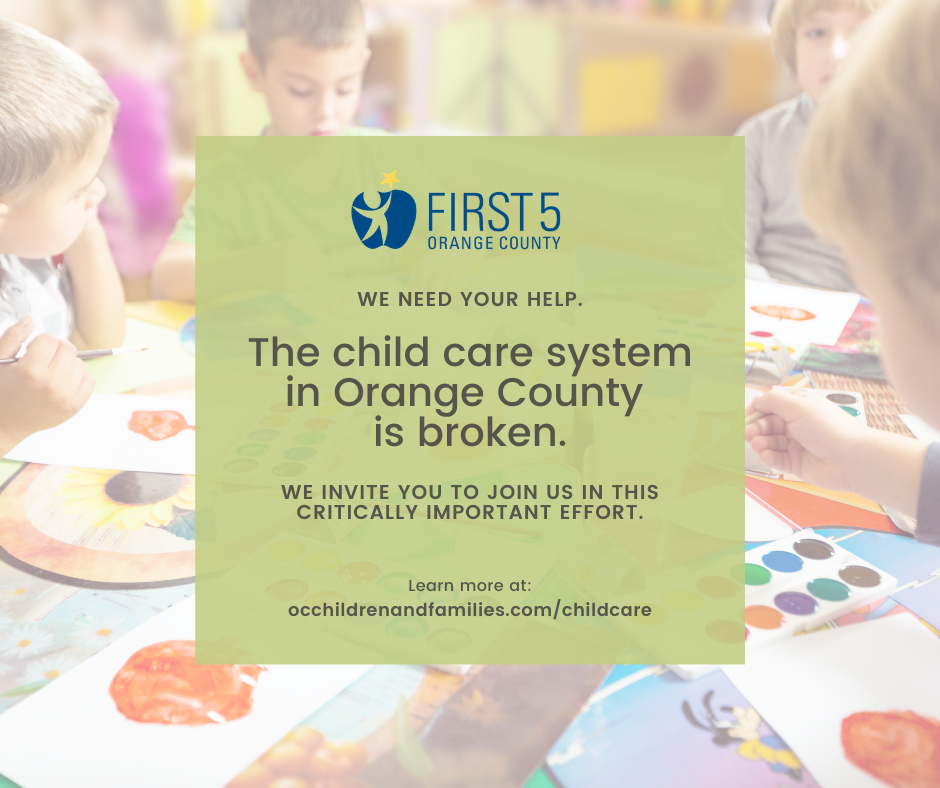 The child care system in Orange County is broken