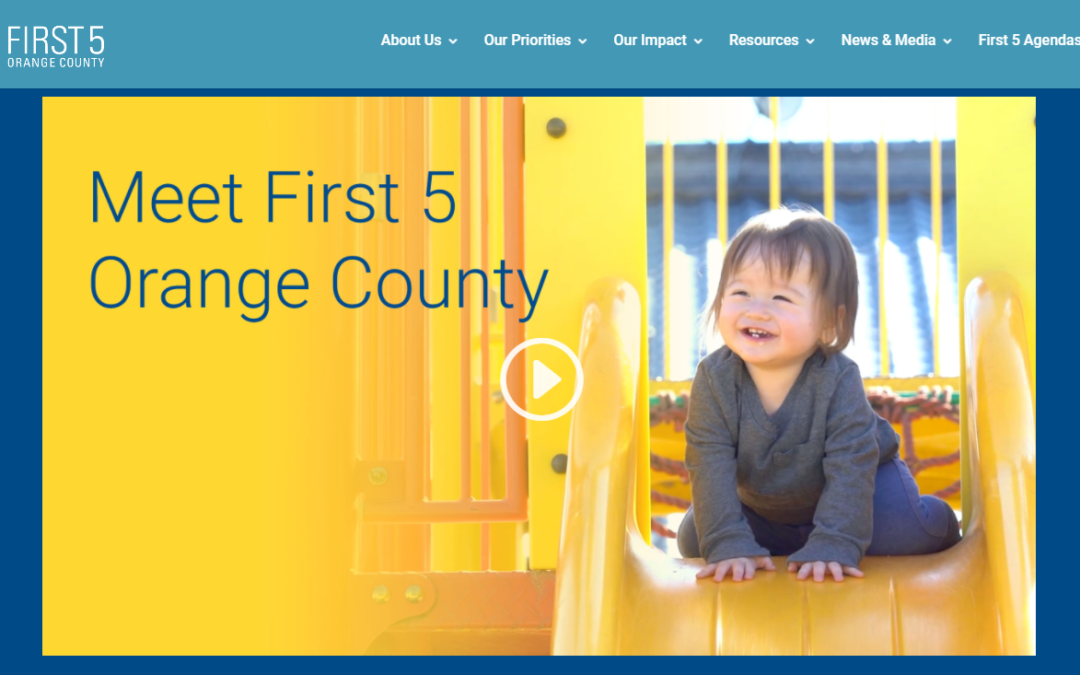 First 5 Orange County launches new website
