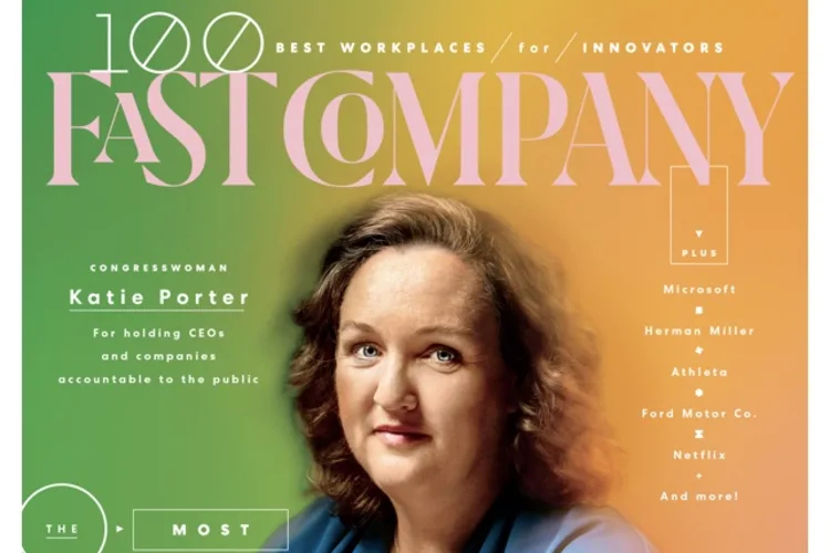 First 5 Orange County featured in Katie Porter profile in Fast Company magazine