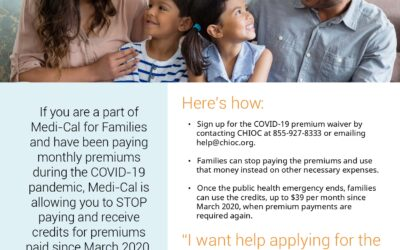 Medi-Cal families in Orange County: Apply to save money now and for the future!